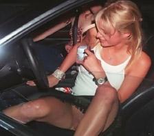 Paris Hilton Pussy Upskirt